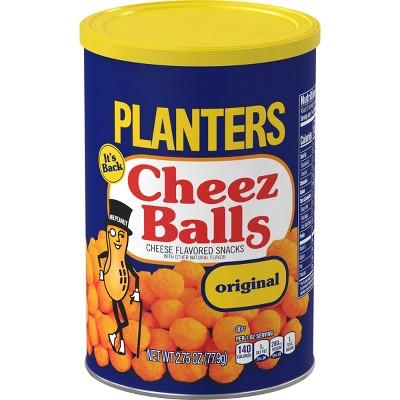 Planters Cheez Balls Puffed Snack - 2.75oz