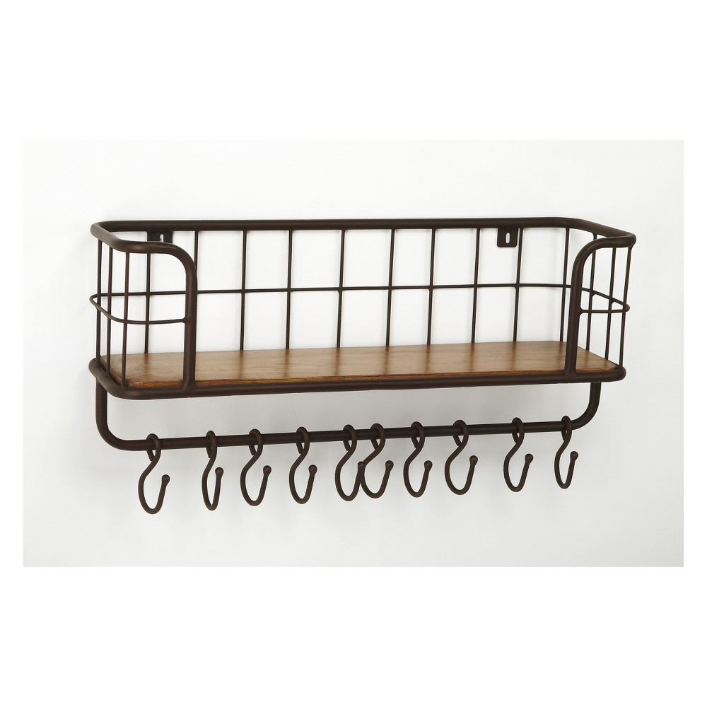 Delmond Wall Rack Industrial Chic - Butler Specialty