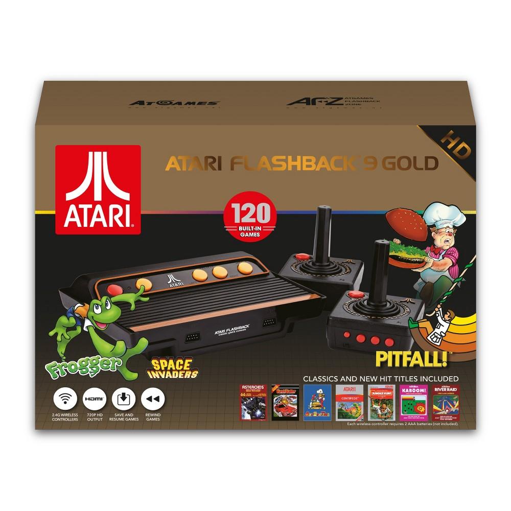 Atari Flashback 9 Gold, video game consoles Atari Flashback 9 Gold, video game consoles Gender: unisex.