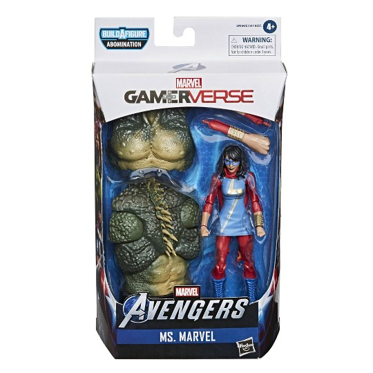 Hasbro Marvel Legends Series Gamerverse Ms. Marvel image number null