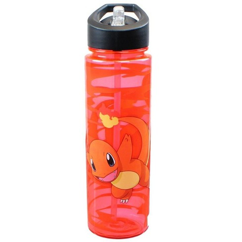 Just Funky Pokemon Charmander Red Water Bottle - image 1 of 1