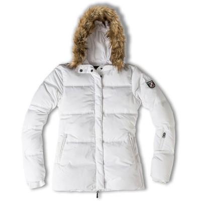 Chamonix Blanche Puffy Short Jacket Womens
