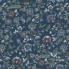 Fairland Square Storage Ottoman Bandana Blue - Threshold™ - image 4 of 4