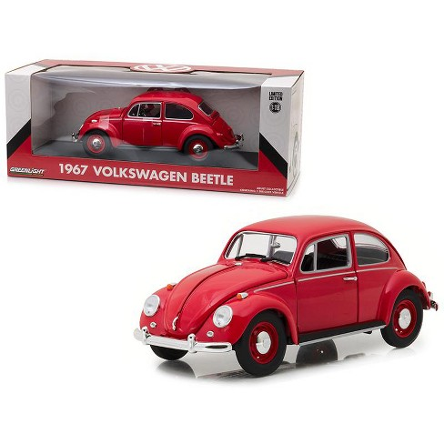 fb008885073 1967 Volkswagen Beetle Right Hand Drive Candy Apple Red 1 18 Diecast Model  Car By Greenlight   Target