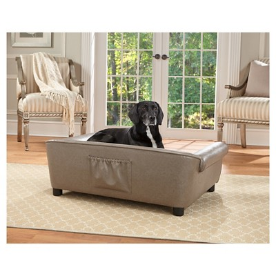 Enchanted Home Pet Rockwell Pet Sofa   L   Pewter : Target
