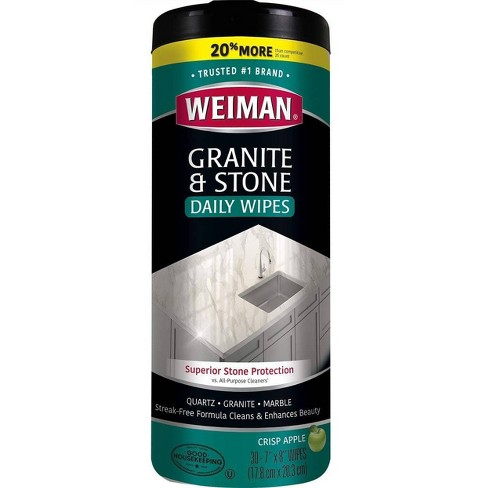 Weiman Granite Wipes - 30ct - image 1 of 4