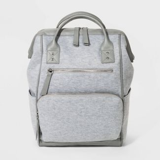 Jersey Gape Mouth Backpack - Wild Fable™ Gray