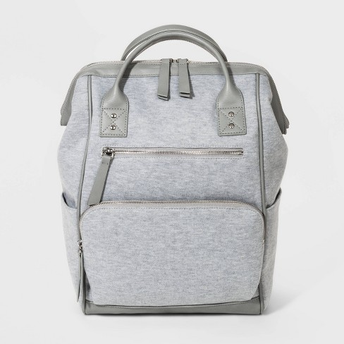 Jersey Gape Mouth Backpack - Wild Fable™ Gray - image 1 of 4