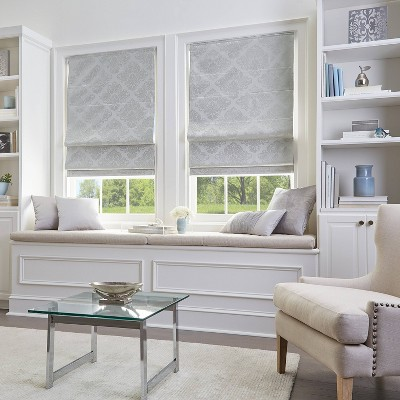 45 x64  Room Darkening Window Shade Panel Silver - CHF Industries