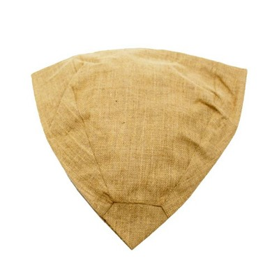"""10"""" Tall Cotton Replacement Jute Liner For Square on Squares Pylon Brown - Achla Designs"""