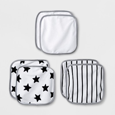Babys' Save The Day 6pk Washcloths - Cloud Island™ White