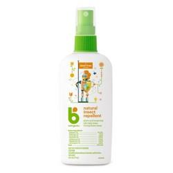Babyganics Natural DEET-Free Insect Repellent - 6oz Spray Bottle