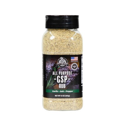 Pit Boss GSP Rub-Garlic Salt Pepper