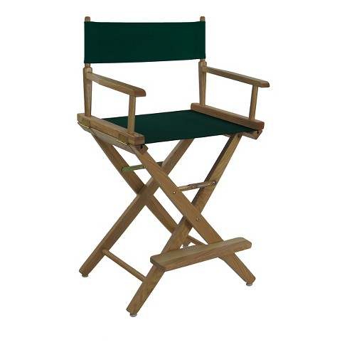Extra Wide Directors Chair  - Natural Frame -Evergreen  - Casual Home - image 1 of 1