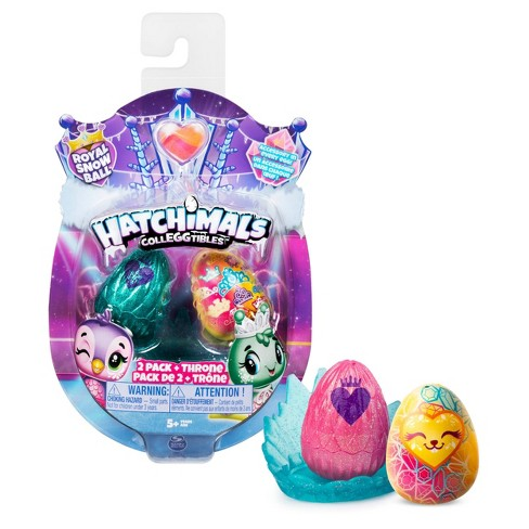 Hatchimals CollEGGtibles Royal 2pk with Throne and 2 Accessories Blind Pack - image 1 of 4