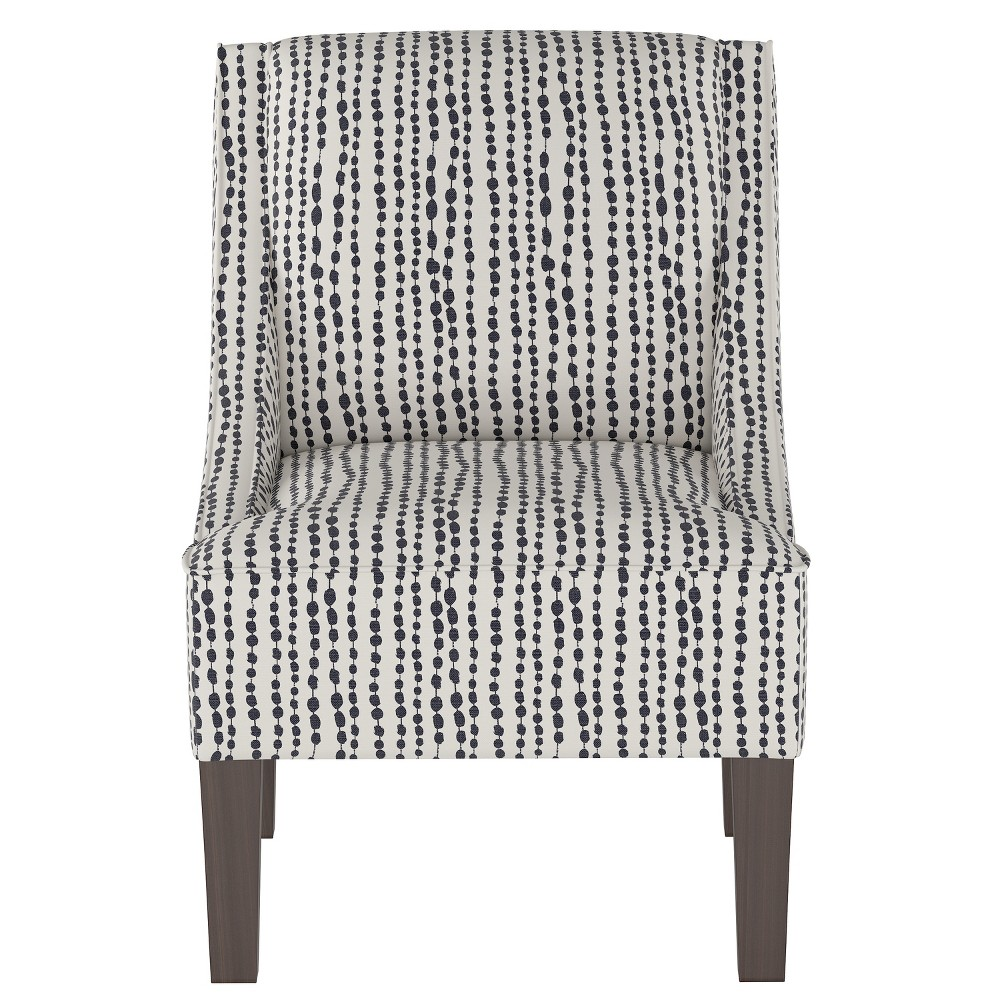 Hudson Swoop Arm Chair Indigo (Blue) - Threshold