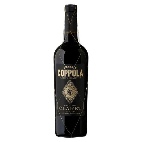 Francis Coppola Diamond Claret Cabernet Sauvignon Red Wine - 750ml Bottle - image 1 of 4