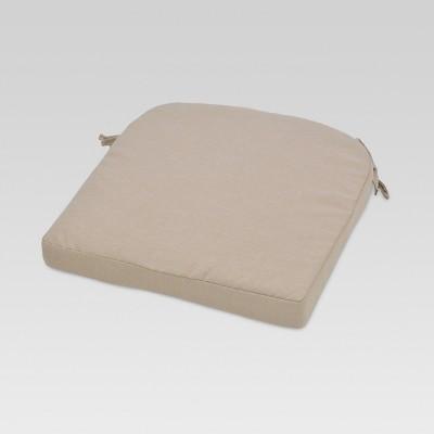 Round Back Seat Cushion - Tan - Threshold™