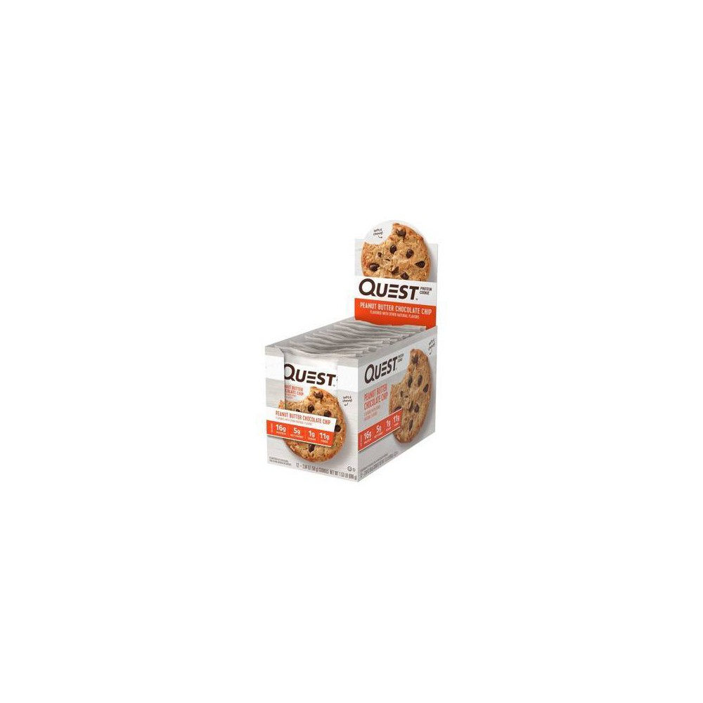 Quest Protein Cookie - Peanut Butter Chocolate Chip - 12ct