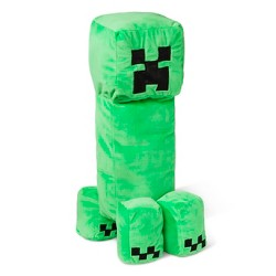 "Minecraft Creeper 14""x7"" Pillow Buddy Green"