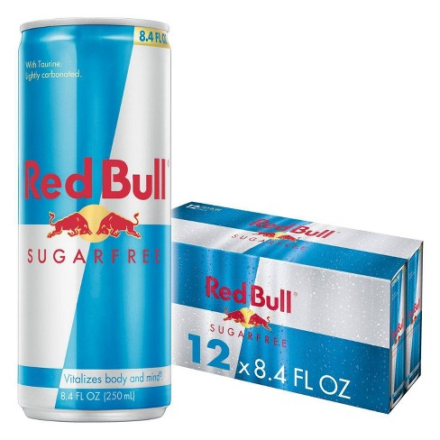 Red Bull Sugar Free Energy Drink - 12pk/8.4 fl oz Cans - image 1 of 4