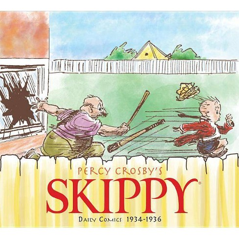 Skippy Volume 4: Complete Dailies 1934-1936 - by  Percy Crosby (Hardcover) - image 1 of 1