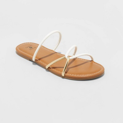 Women's Bali Strappy Slide Sandals - Shade and Shore™