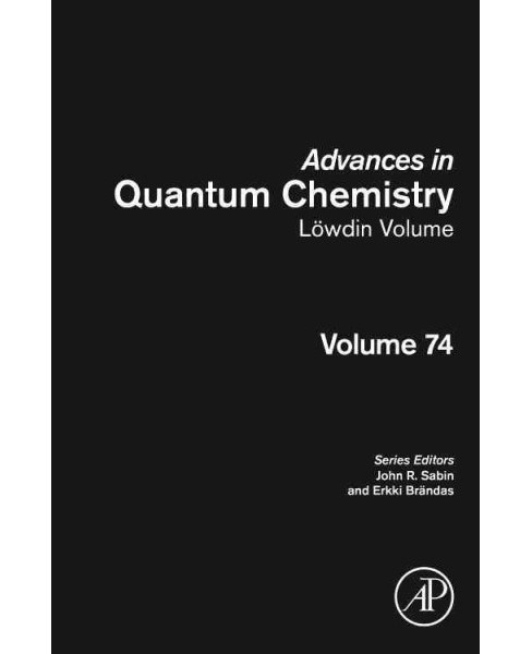 Lowdin Volume (Vol 74) (Hardcover) - image 1 of 1
