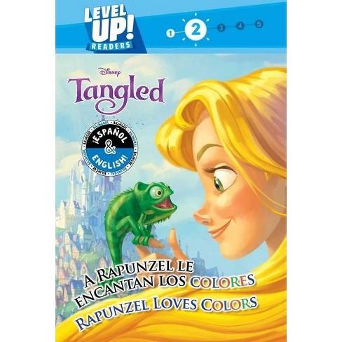 Rapunzel Loves Colors / A Rapunzel Le Encantan Los Colores (English-Spanish) (Disney Tangled) (Level Up! Readers) - (Disney Bilingual) by  R J Cregg - image 1 of 1