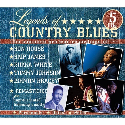Various Artists - Legends of Country Blues (CD) - image 1 of 1