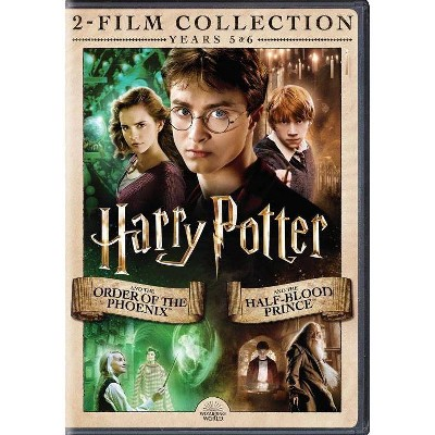 Harry Potter and the Order of Phoenix/Half Blood Prince DBFE (DVD)