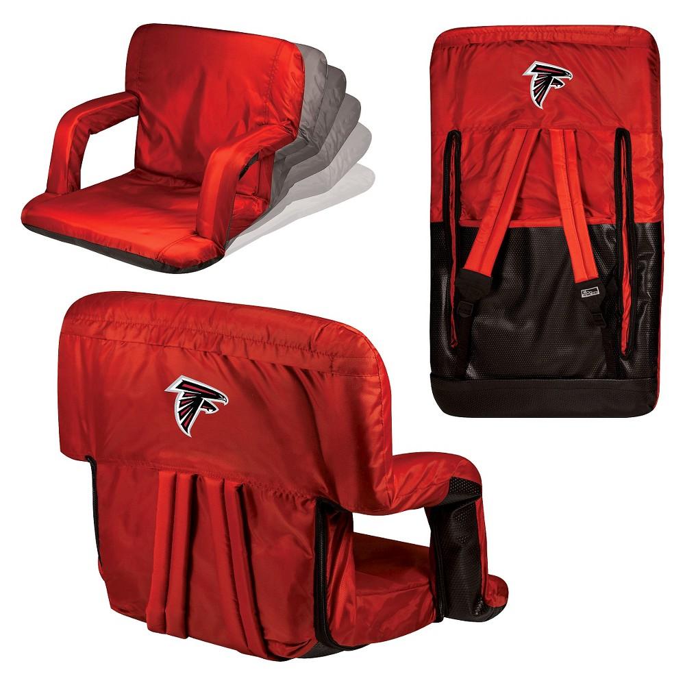Picnic Time Ventura Seat Nfl Atlanta Falcons Red