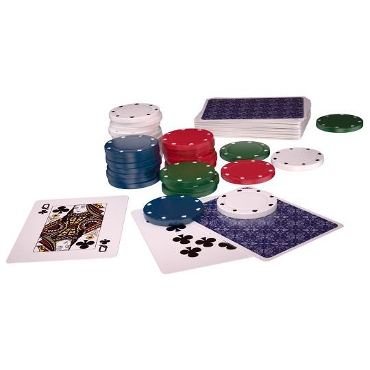 400pc Poker Game Set, Adult Unisex image number null