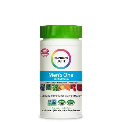 Rainbow Light Men's One Multivitamin Tablets - 45ct