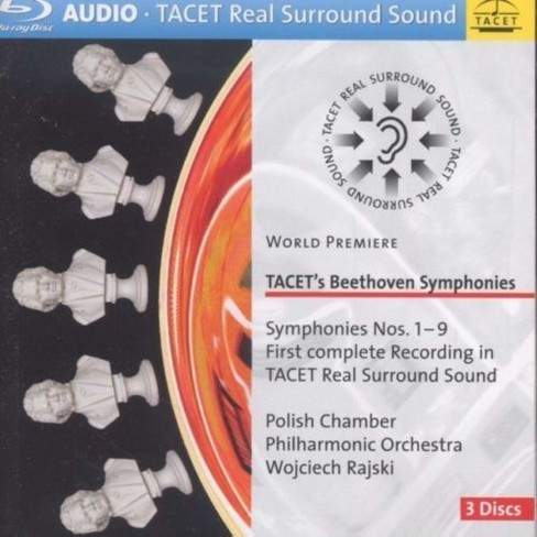 Polish chamber philh - Beethoven:Syms nos 1-9 (Audio only) (Blu-ray) - image 1 of 1