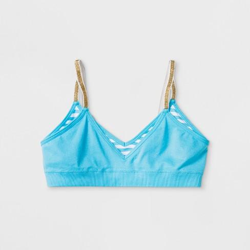 eaebbcb0c3 Girls  Bras - Cat   Jack™ M Turquoise   Target