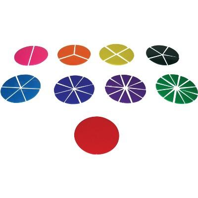 School Smart Fraction Circles, set of 51