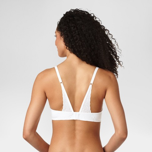 d8375e666c Simply Perfect By Warner s Women s Supersoft With Lace Back Underwire Bra    Target