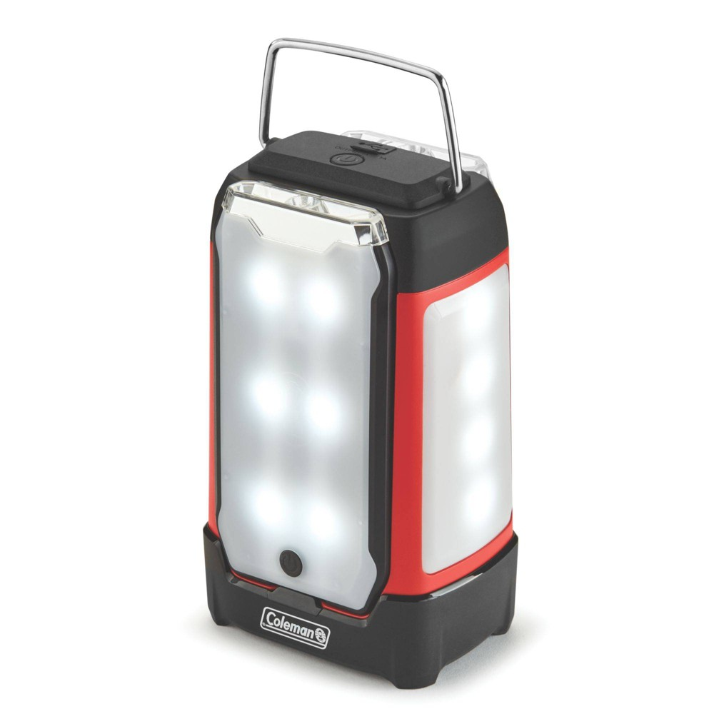 Image of Coleman 2-Panel 400L LED Lantern - Red