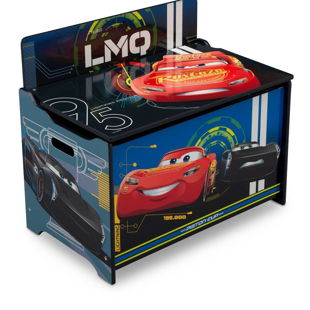 Image of Disney Pixar Cars Toy Box - Delta Children