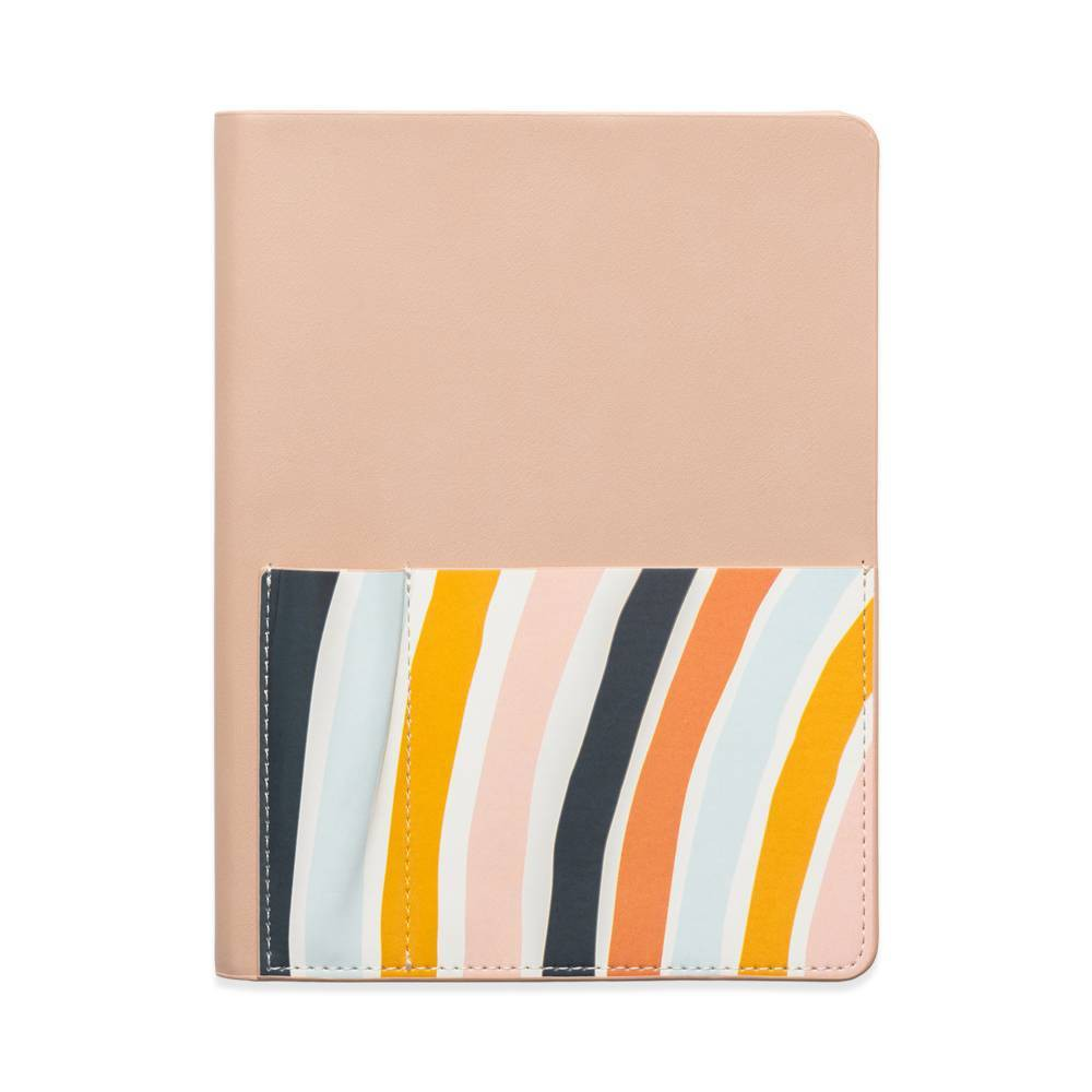 Leatherette Storage Journal Khaki Rainbow Designworks Ink