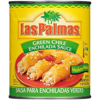 Las Palmas Picante Medium Green Chile Enchilada Sauce 28oz