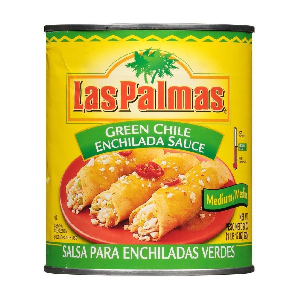 Las Palmas Picante Medium Green Chile Enchilada Sauce 28oz Compare
