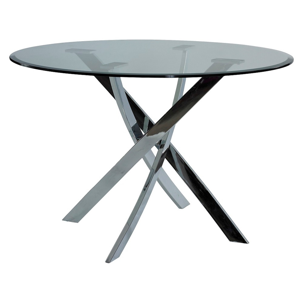 Wilson Dining Table Silver - Powell Company