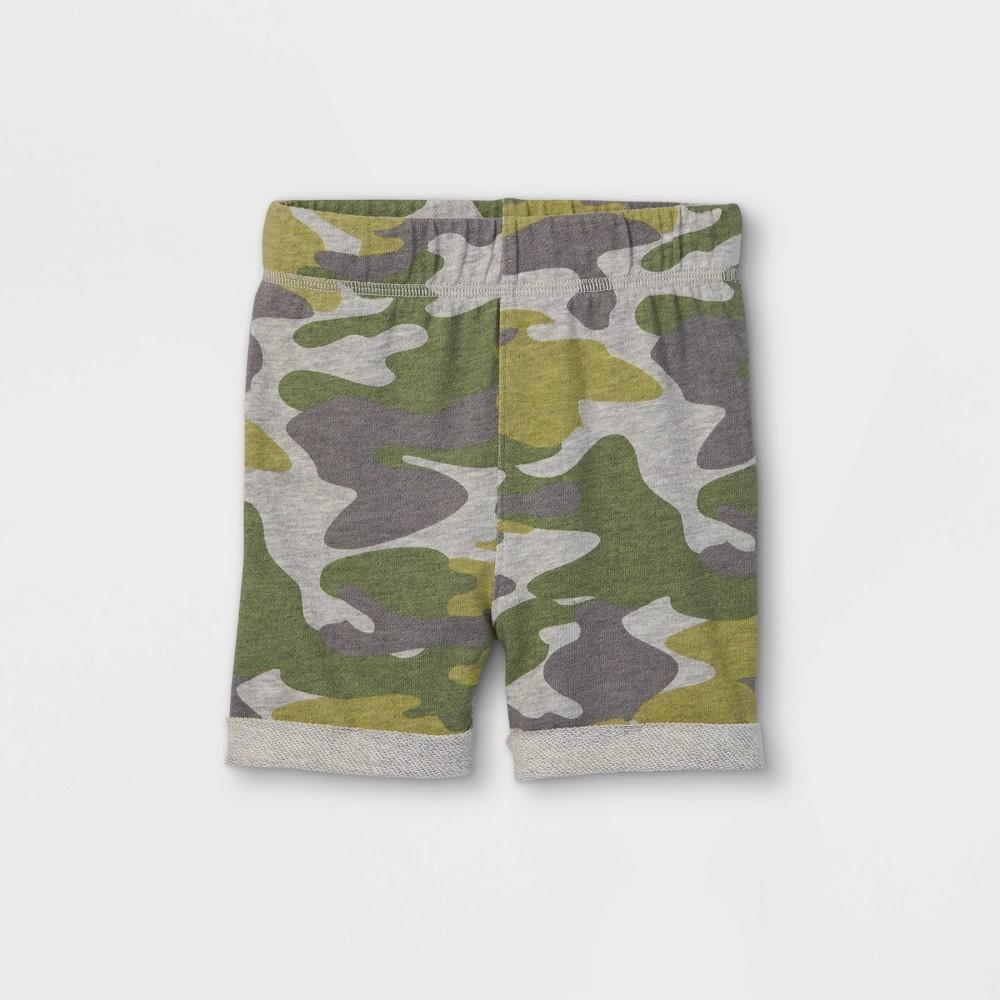 Toddler Boys 39 Camo Pull On Shorts Art Class 8482 Heather Gray 5t