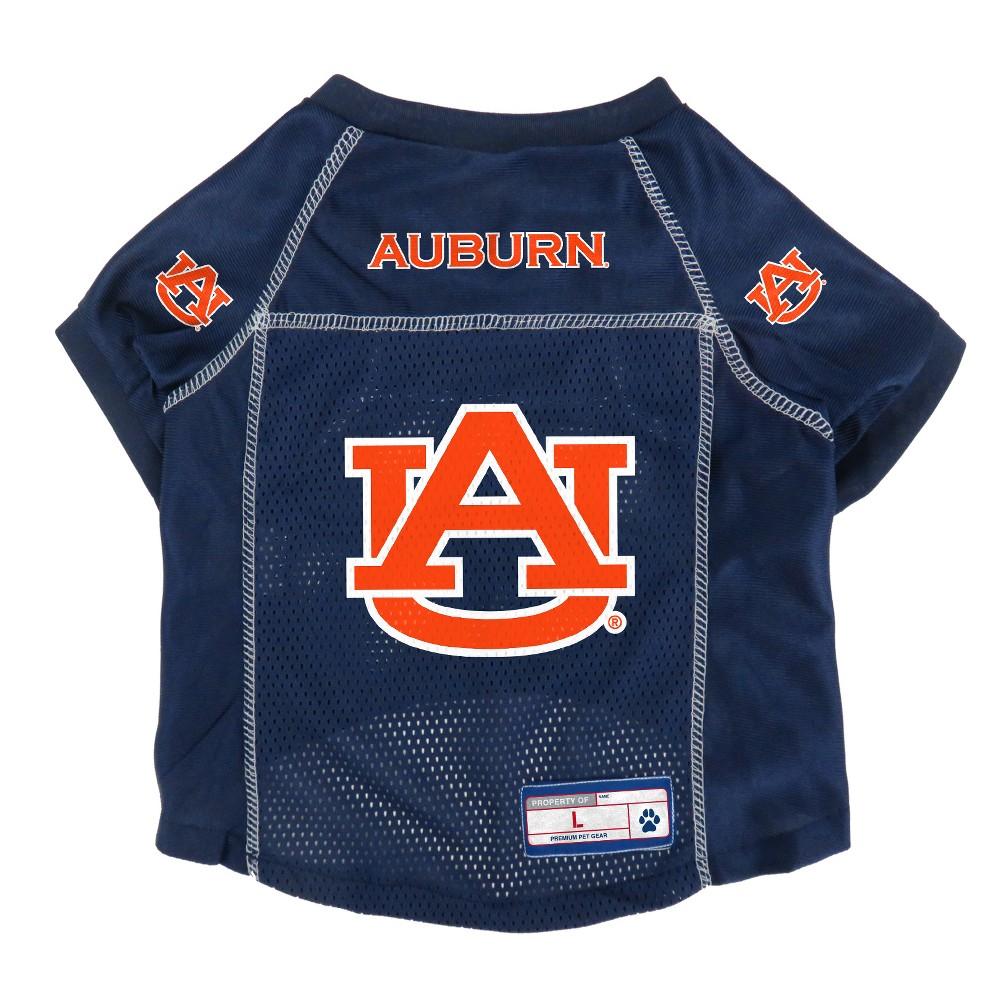 Auburn Tigers Little Earth Pet Football Jersey - S, Multicolored