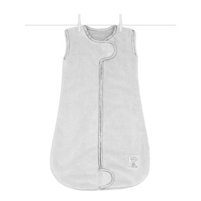 Little Giraffe Powder Plush Dreamsack Swaddle Blanket - Silver