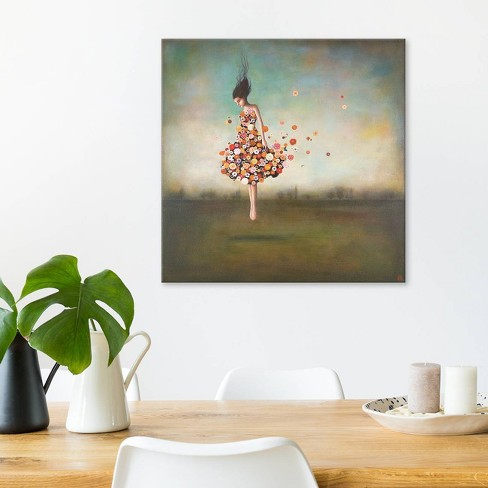 """26""""x26"""" Boundlessness in Bloom by Duy Huynh Unframed Wall Canvas Print Blue - iCanvas - image 1 of 2"""