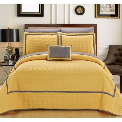 Nero Quilt Set - Chic Home Design