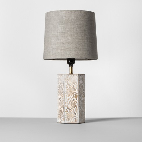 Carved Accent Table Lamp Opalhouse Target